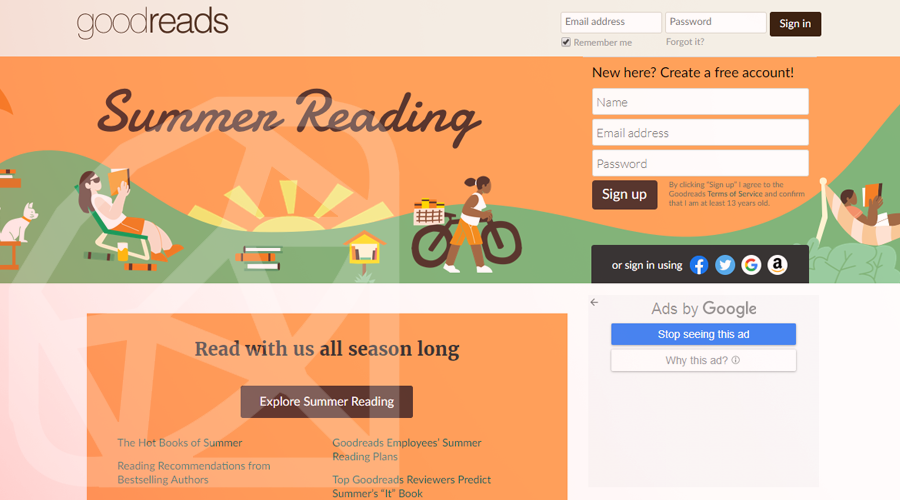 Goodreads Built with Ruby on Rails