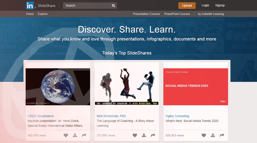 Slideshare Built with Ruby on Rails